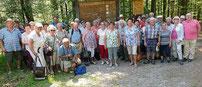 Im Nationalparkgebiet rund um das Schwellhäusl fühlten sich die Senioren richtig wohl.