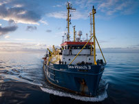 Sea Watch 3 im Einsatz