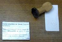 Ex libris exposé au musée  Despiau-Wlérick à Mont-de-Marsan