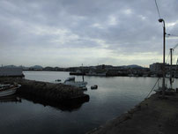 竹ノ子島 造船所横波止 の写真