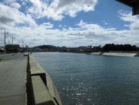 綾羅木川 の写真
