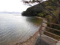青海島 道路沿い の写真2