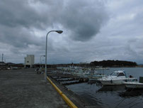 丸尾漁港 港内の写真