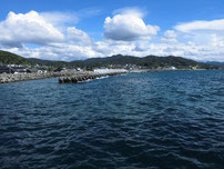 宇賀漁港 大波止・付け根付近の写真