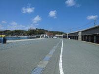 越ケ浜漁港 駐車箇所の写真