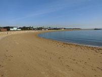 きららビーチ焼野 砂浜の写真