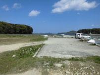 香川津の波止 駐車箇所の写真