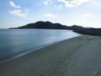 大海漁港 右側 砂浜の写真