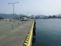 萩商港 港内・トイレの写真