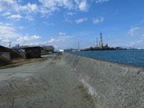 高浜港 護岸沿い の写真