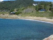 犬鳴岬 砂地の写真