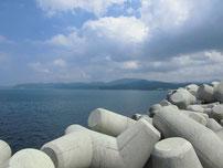 川棚漁港 外波止・付け根付近の写真