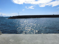 宇賀漁港 大波止の写真