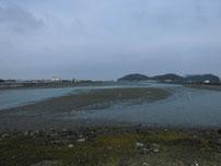 今川河口 今川大橋 下流 の写真