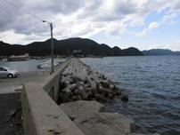 野波瀬漁港の写真