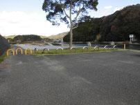 木屋川 吉田河川公園の駐車場の写真