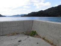 松島の地磯 先端付近の写真