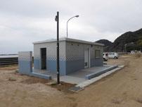 富海海岸 トイレの写真