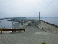 角島 元山港 大波止の写真