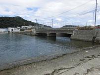 永田川河口部の写真