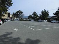 菊ヶ浜海水浴場 駐車場の写真