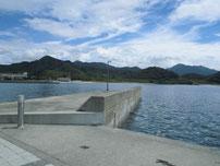 吉母漁港 小波止の写真