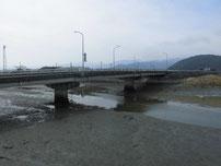 今川河口 江尻川大橋 の写真