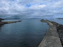 武久川 河口部の写真