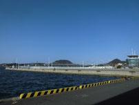 門司西海岸 右側の角 の写真