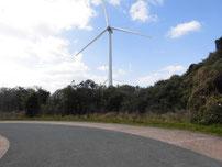 風車前 駐車場の写真