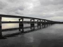 厚東川大橋横 左岸 の写真