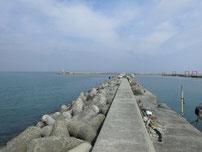 宇島漁港 内波止の写真