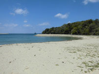 美萩海浜公園 砂浜の写真