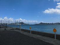 東大和町 第2突堤先端付近 左側の写真