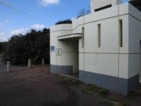 風車前 トイレの写真