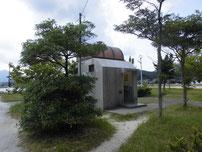 室津下漁港 トイレの写真