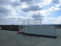椎田干拓地海岸 駐車箇所の写真