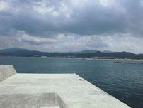 川棚漁港 外波止・先端付近内側の写真