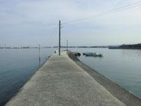 松江漁港 外波止の写真