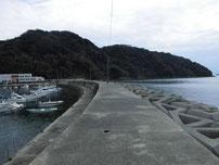 西浦漁港 外波止の写真