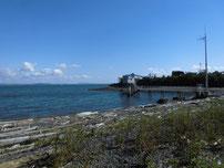 青浜海岸 砂浜の写真
