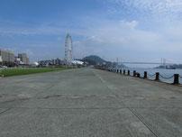 岬之町から唐戸付近の写真