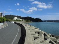 青海島 水産試験場周辺 の写真