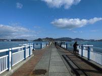 日明海峡釣り公園 釣り桟橋 の写真2