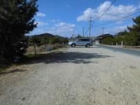 尻川海水浴場 駐車箇所の写真