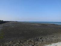 八津田漁港 浜の写真
