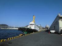 門司 西海岸 停泊している船舶の写真