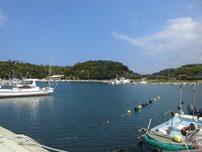 湧田漁港 全体の写真