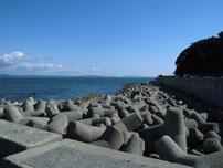 部崎の波止 清虚像周辺 の写真