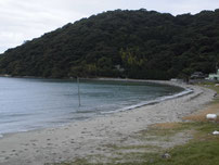 吉見 古宿町の砂浜の写真